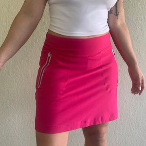 Nike golf magenta mini skirt skort tennis skirt